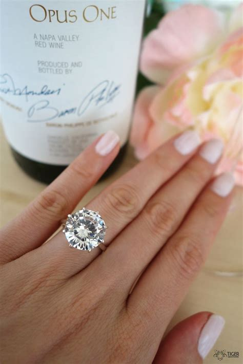 Ruby 3 3crt 1000 ideas about solitaire engagement rings on