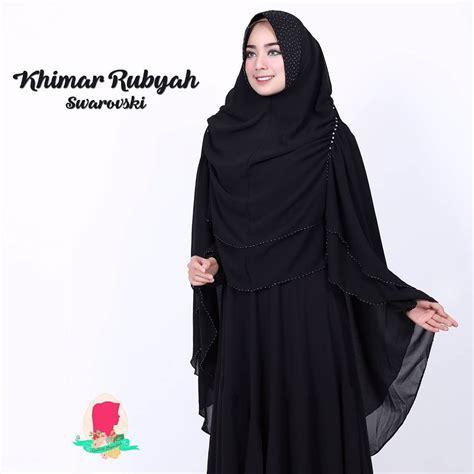Khimar Kafhaya Embordir By Gallery Syarifah khimar rubyah swarovski ori by gallery syarifah