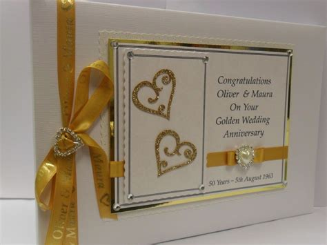 Golden Wedding Anniversary Ideas by Anniversary Invitations 50th Golden Wedding Anniversary