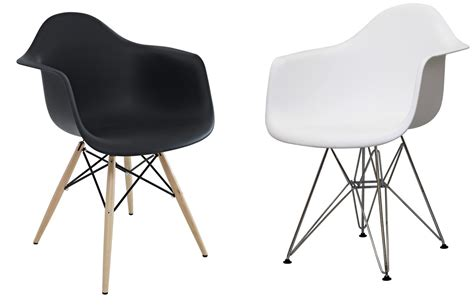 Plastic Armchair by Molded Plastic Chairs Eames Molded Plastic Side Chair