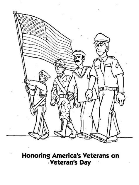 printable veterans day cards to color coloring pages for veterans day holidays and observances