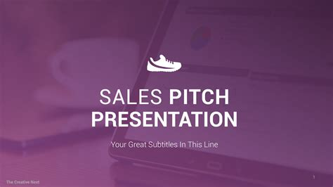 Sales Presentation Professional Sales Pitch Template By Sales Pitch Template Powerpoint