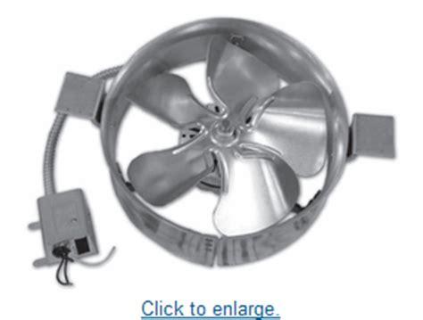 lomanco attic fan thermostat lomanco gable mounted attic fan