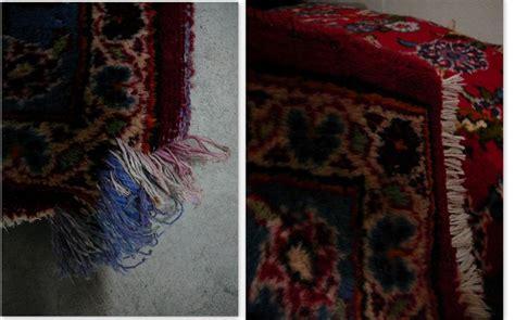 riparazione tappeti persiani foto riparazione tappeti annodati a mano di tabriz