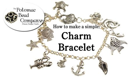 how to make jewelry charms how to make a simple charm bracelet