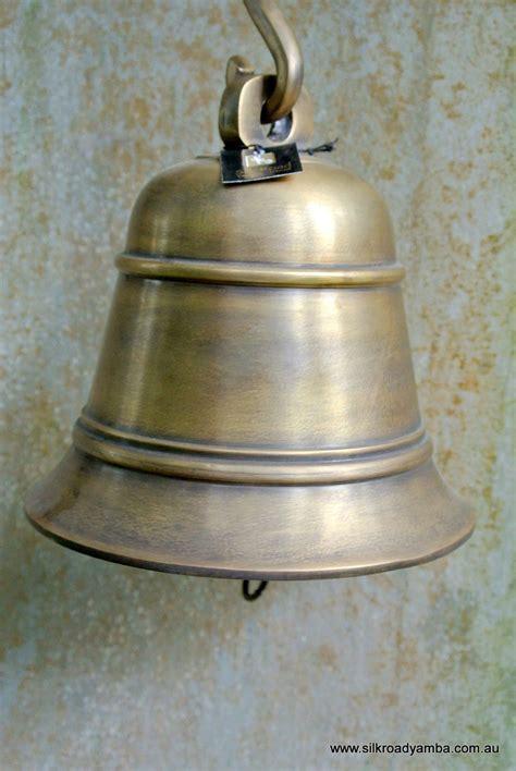 Bell For Door by Large Nautical Ship Door School Bell Chain Solid Brass 6 1