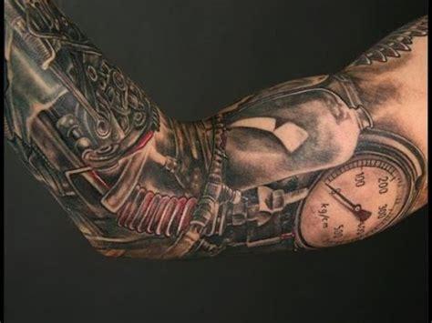 Bio Mech Tattoos Robot Tattoos Youtube