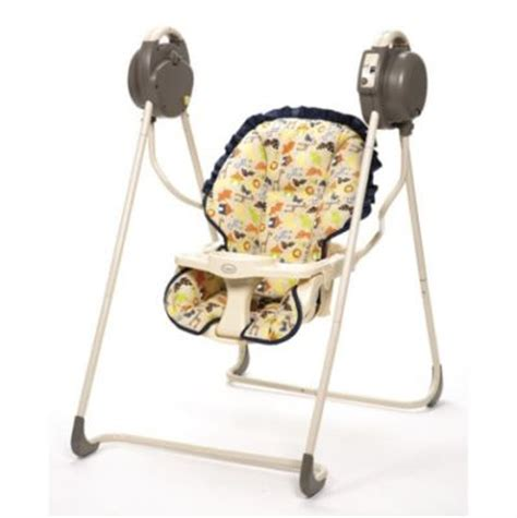 cosco swing shopdotbags new cosco gentle motion swing jungle harmony