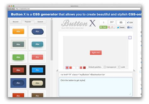 making css online 10 generators tools to create modern css buttons web