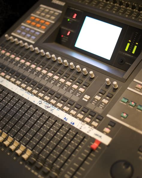 Mixer Audio Recording yamaha o2r audio mixer technology mixers