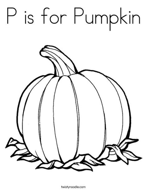 coloring pages for it s the great pumpkin charlie brown p is for pumpkin coloring page twisty noodle