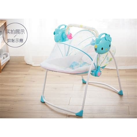 electronic baby swing cradle electric baby swing rocking chair music baby cradle bb