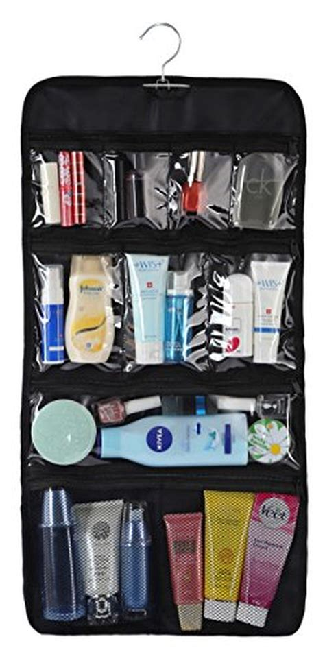 New Travel Toiletries Bag Tas Treveling wodison transparent clear hanging travel toiletry cosmetic organizer storage bag large brought