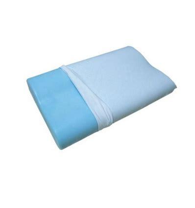 cuscino memory foam cervicale cuscino per la cervicale in memory foam e polar gel