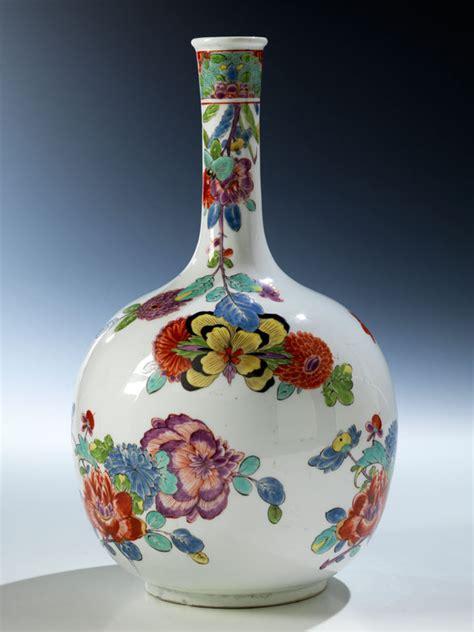 vase mit blumen fr 252 he meissen vase mit indianischen blumen hel