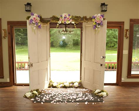 Wedding Ceremony Doors by Wedding Ceremony Arch Doors And Ladder With Vintge