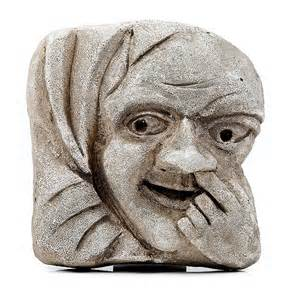 Home Hanging Decorations Grotesque Nose Wall Plaque Winchester Cathedral Shop
