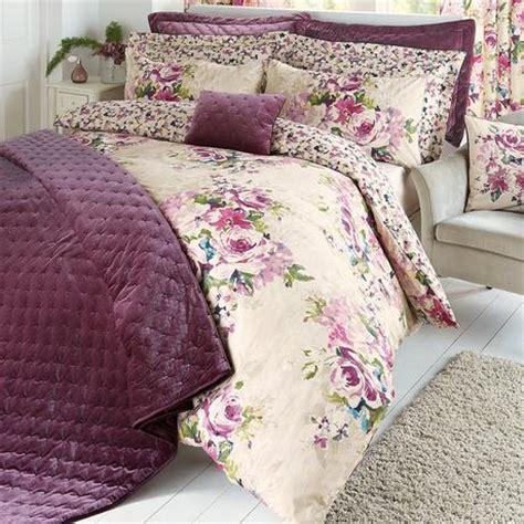 plum bed linen moors plum bed linen collection dunelm