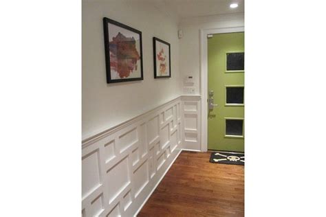 Contemporary Wainscoting by 10 Best Molding Below Chair Rail Images On