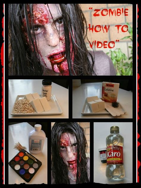 zombie yourself tutorial m 225 s de 25 ideas incre 237 bles sobre diy zombie makeup en