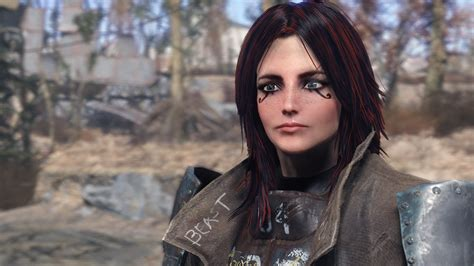 fallout 4 character mods female archer female character preset at fallout 4 nexus mods