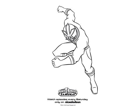 power rangers samurai coloring pages red power rangers coloring pages printable free printable