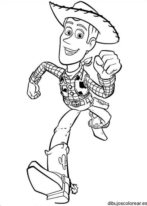 imagenes para colorear woody toy story buddy toy story dibujo imagui