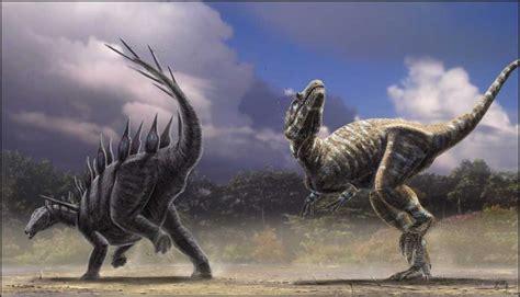 dinosaurs fight