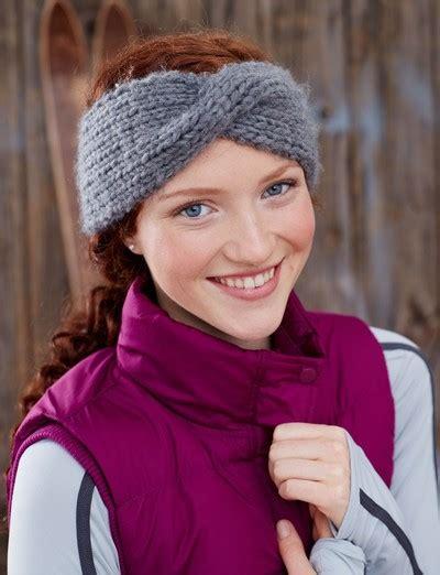 knitting pattern headbands twisted sister headband allfreeknitting com