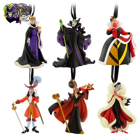 disney store classic disney villains hanging christmas