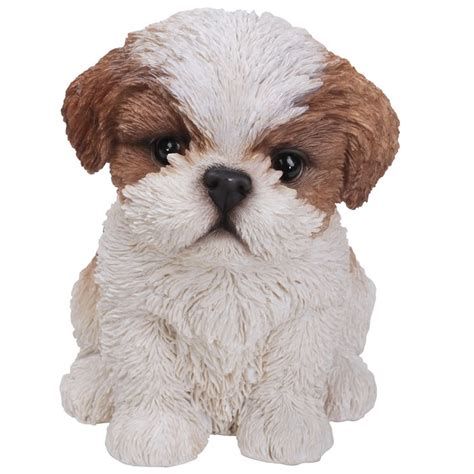 shih tzu ornament shih tzu puppy garden ornament the garden factory