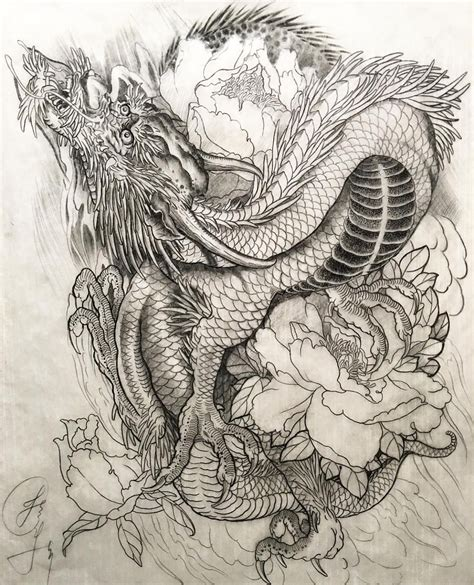 dragon phoenix tattoo designs see this instagram photo by jessyentattoo 3 282 likes