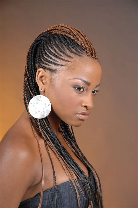 images of hair braiding in a mohalk braids