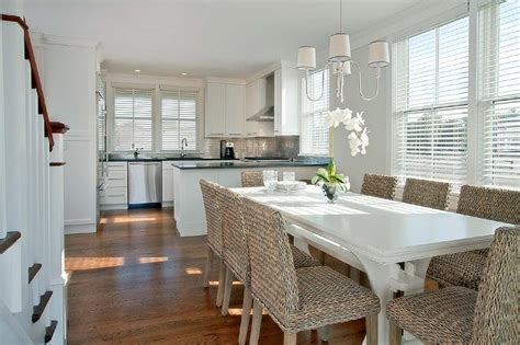 white wicker dining table and chairs rectangular marble dining table design ideas