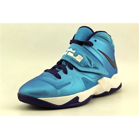 size 4 basketball shoes nike soldier 7 gs youth boys size 5 blue basketball