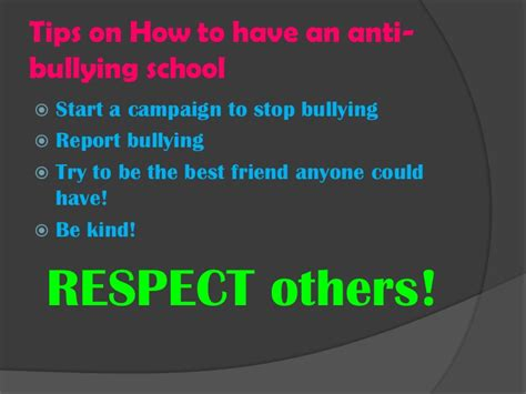 ten tips to prevent cyberbullying the anti bully blog anti bullying presentation 1