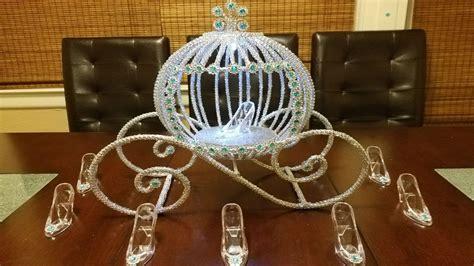 Cinderella Carriage Centerpiece Princess Carriage Cinderella Carriage Centerpiece Themed Centerpieces
