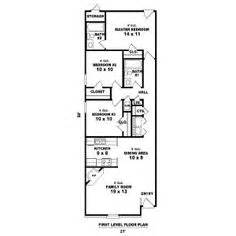 long narrow apartment floor plans