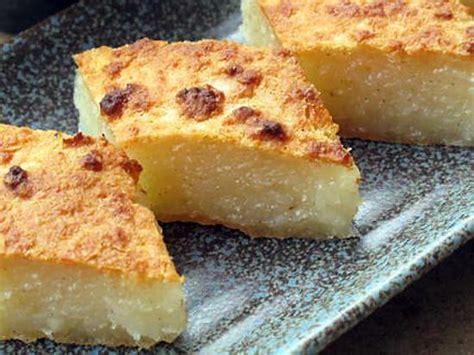 comment cuisiner des moules surgel馥s recette de g 226 teau de manioc au coco