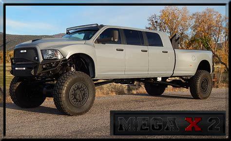 6 Door Dodge Truck by Mega X 2 6 Door Dodge 6 Door Ford 6 Door Mega Cab Six Door