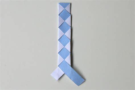 Un Marque Page En Origami Tress 233 Cabane 224 Id 233 Es Tresse Simple Tuto