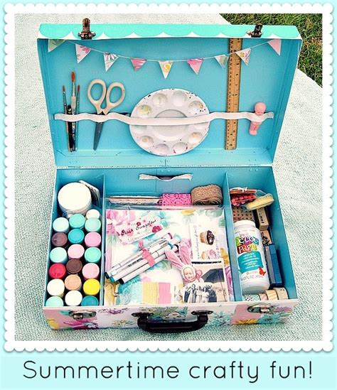 and crafts kits summertime traveling kit diy