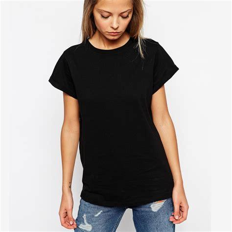 Tshirt Kaos Level 6 enjoythespirit s fashion plain black t shirt