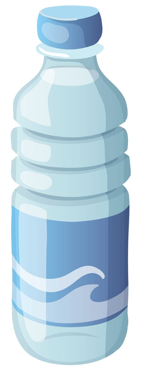 Transparent Water Bottle water bottle clipart no background clipartxtras