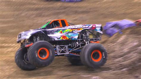 monster truck show detroit hurricane force freestyle in detroit monster jam 2016