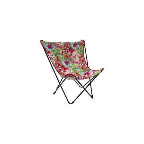 fauteuil pliant lafuma fauteuil pliant exotique maxi pop up punch lafuma plantes et jardins