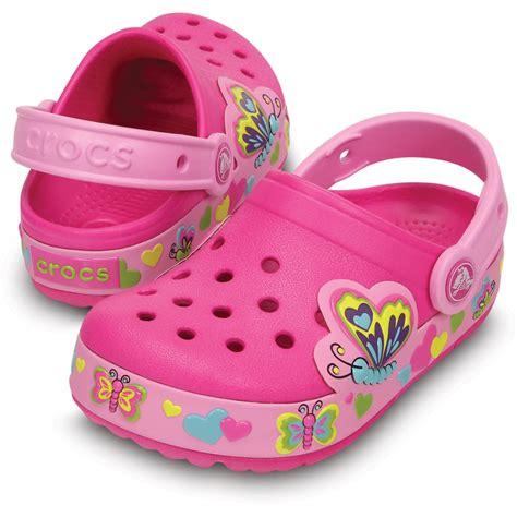 Crocs Butterfly Led crocs crocslights butterfly clog neon magenta