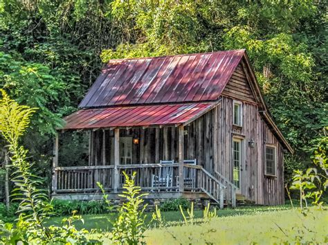 Restored Log Cabins by One Mile From Late 18th Century Treasures Living In The