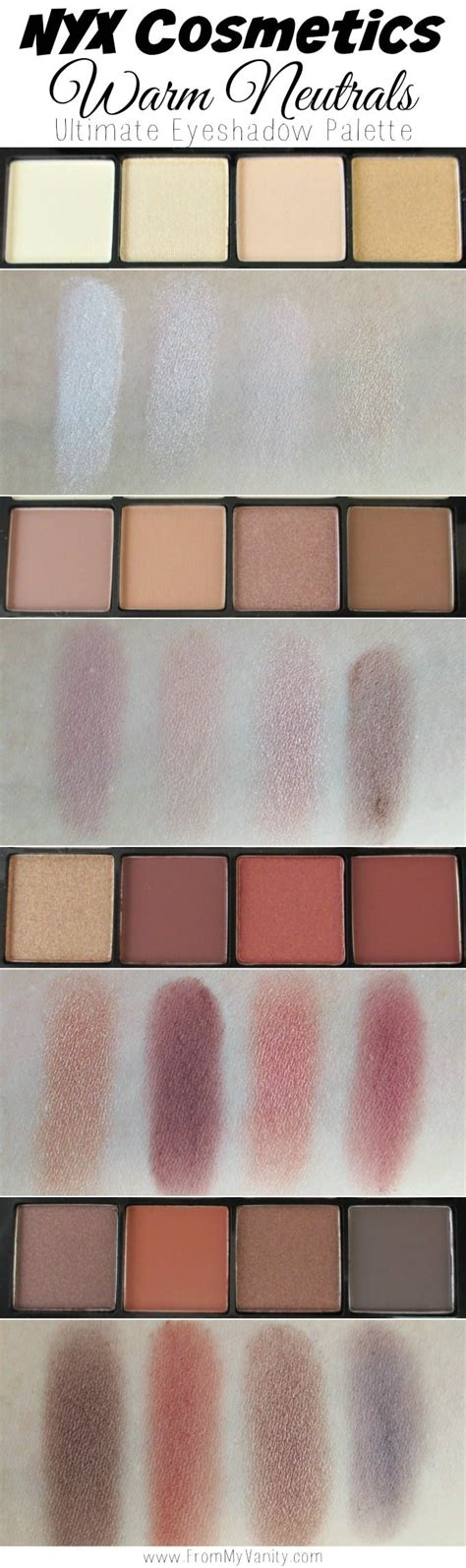Nyx Ultimate Shadow Palette nyx cosmetics ultimate shadow palettes review swatches