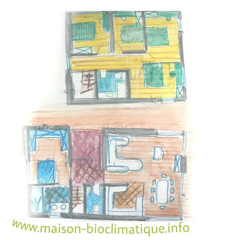 Plan Maison 5 Chambres Avec Etage by Plan Maison 5 Chambres Avec Etage 1 Maison Bioclimatique